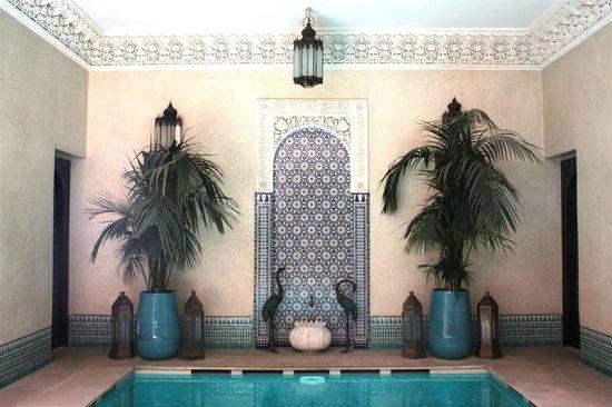 Riad Kniza: pool