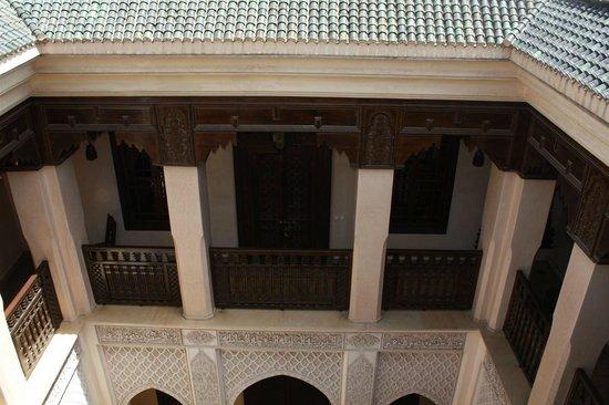 Riad Kniza: roof