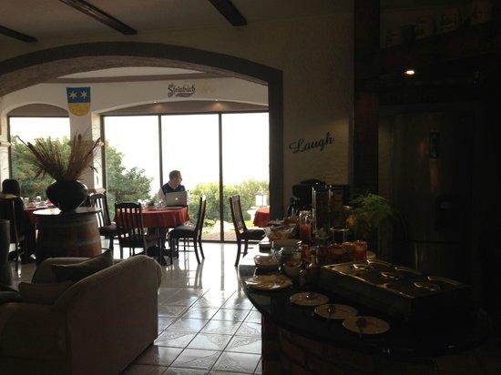 Stephans Guesthouse: Breakfast buffet