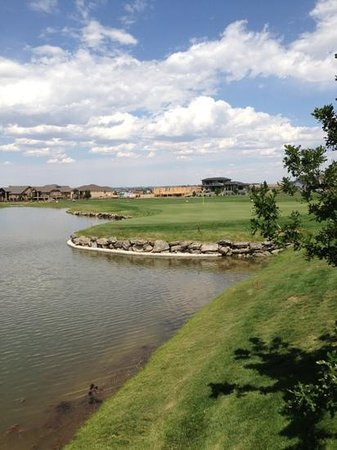 Highland Meadows Golf Course: #18 great finishing hole
