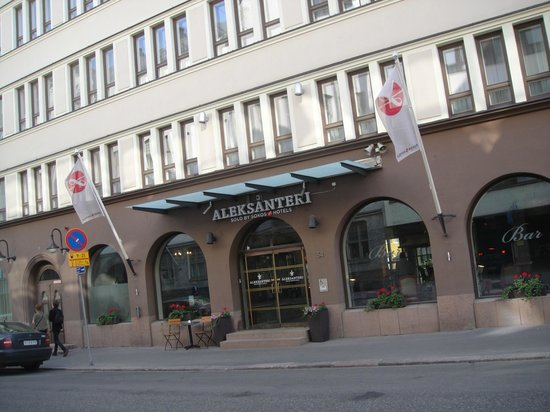 Original Sokos Hotel Albert: entrance