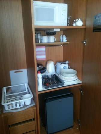Emporio Prague Apartments: kitchenette