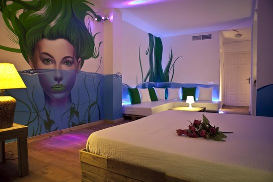 Urban Spaces Hotel: One of our most famous artist designed suites-Posidonia