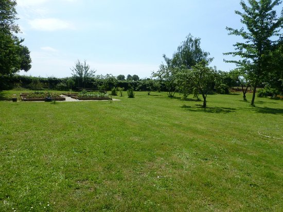 Limalonges, France : The garden/orchard
