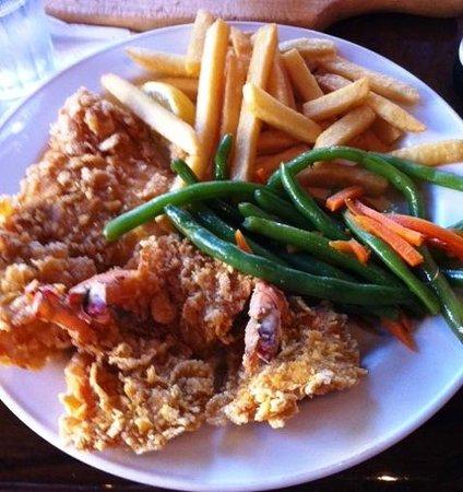 Prawnbroker Restaurant and Fish Market : Crunch Grouper / Shrimp