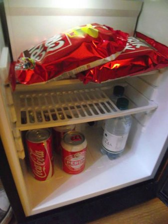 Ferrari Home B&B: minifridge