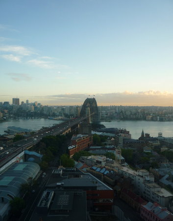 Shangri-La Hotel Sydney: And another view from room