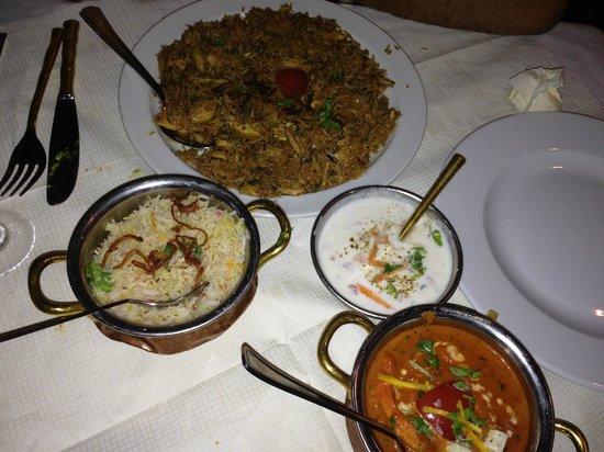 Indian Taj Restaurant Copenhagen