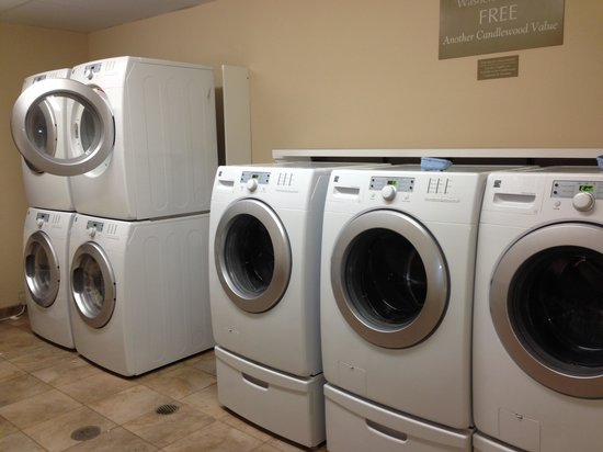 Candlewood Suites Grand Junction NW: Free washers and dryers.
