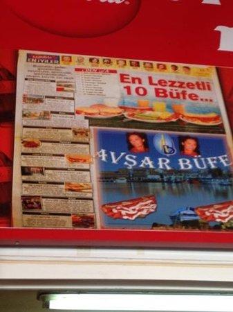Avsar Bufe: Ayvalik Tost'un tam yeri!