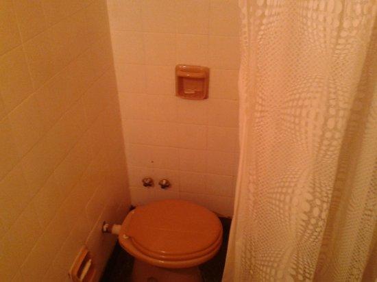 Rosario Bed and Breakfast: Inodoro dentro de la ducha