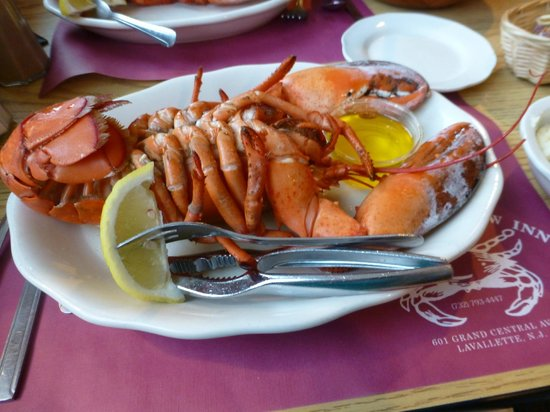 The Crab's Claw Inn: 1-1/4 lb. Steamed Lobster