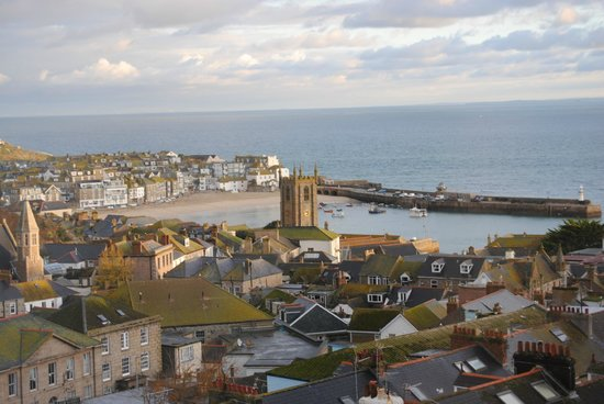 Little Leaf Guest House: View of St.Ives from the room