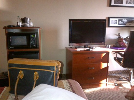 Sleep Inn & Suites: ROOM WITH FLAT SCREEN TV