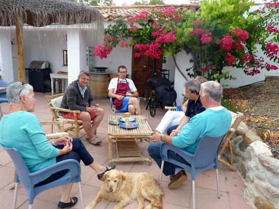Casa El Algarrobo : Paella-avond