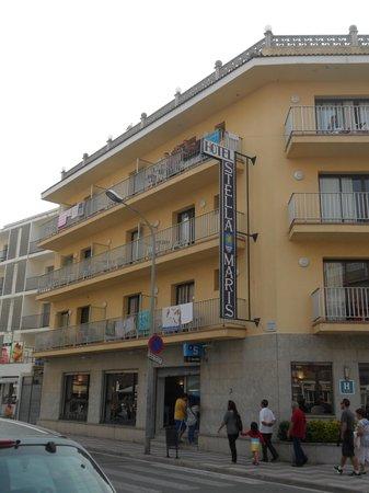 Hotel Stella Maris: Met z'n allen op het balkon!