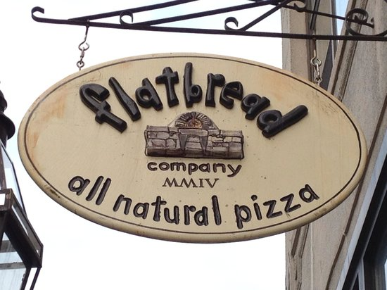 Flatbread Co: Outside Sign