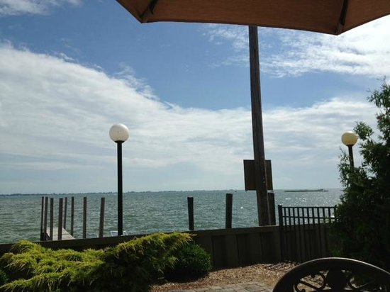 Fair Haven, MI: Bobby Mac's view from patio