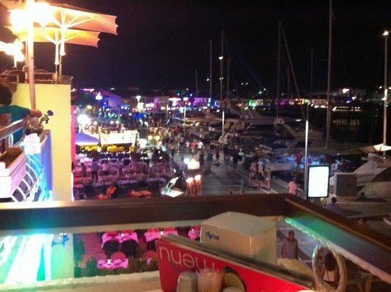 Restaurant Jan de Wit: Terrace view