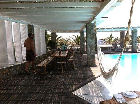 San Giorgio: Poolside