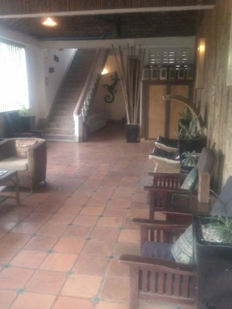 Rosy Guest House: Upstairs balcony