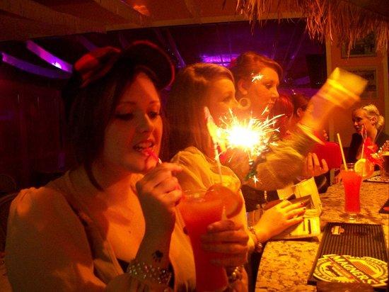 Sanddancers Bar : Birthday cocktails