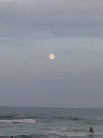El Caribe Resort and Conference Center: Full moon view.. delightful