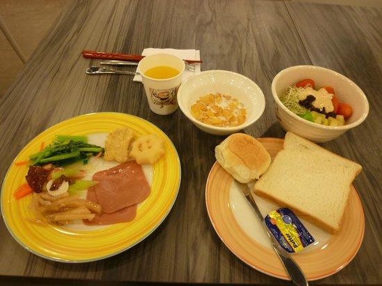 CU Hotel Taipei Branch: 實際提供的種類比照片上的還要多