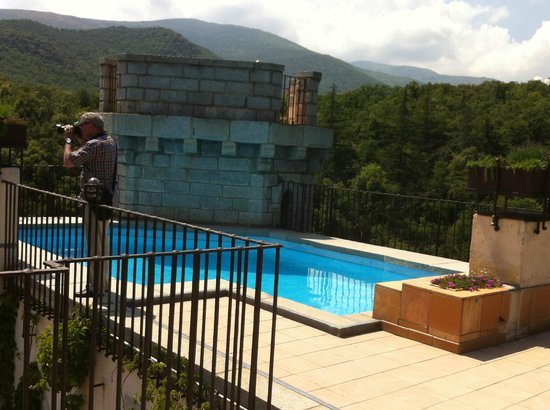 Chateau De Riell: Rooftop pool
