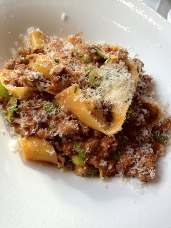 Gisella: Pappardelle with lamb ragu