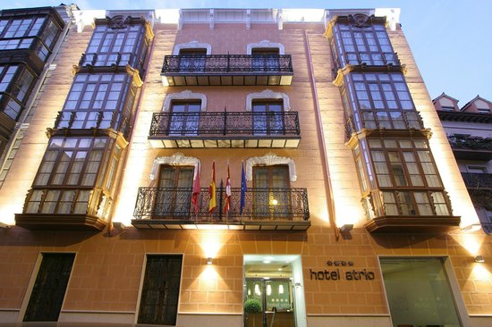 Hotel Boutique Atrio 4: hotel atrio fachada