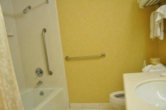 Coventry Motor Inn: A very ample bathroom