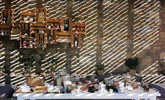 Rocabella Mykonos Art Hotel & SPA: Πρωινό