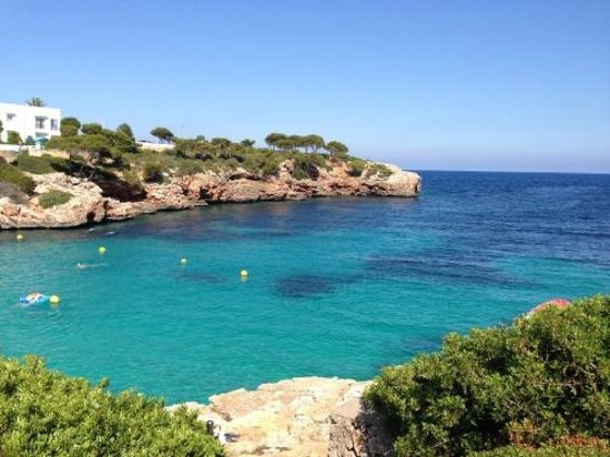 Inturotel Cala Esmeralda: View of the cove (sea facing)