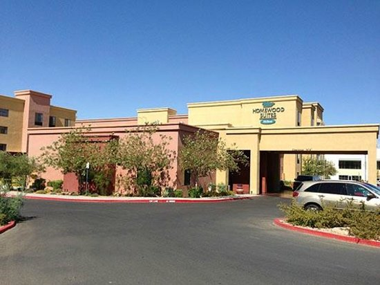 Homewood Suites by Hilton Las Vegas Airport: Front of Homewood Suites from Hidden Well Road