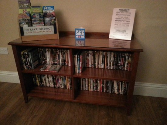 The Ravensworth: DVD's in the lounge, free to use