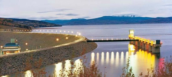 Hudson's Hope, Kanada: WAC Bennett Dam