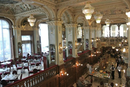 New York Palace Budapest: Café New York / Restaurant / Frühstücksraum