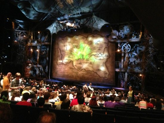 Wicked: Before the show