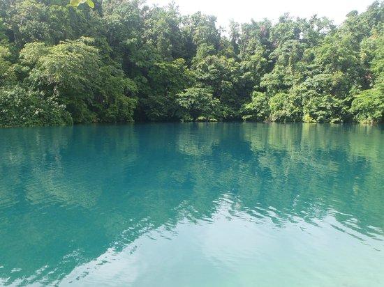 Moon San Villa: Le blue lagoon
