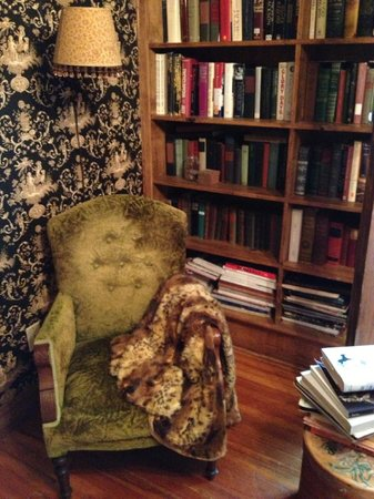 Treasure House Bed and Breakfast: More books and a comfy chair