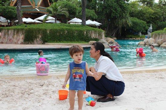 Hyatt Regency Hua Hin: Kids Beach