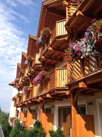 Hotel Chalet Tianes : balconi