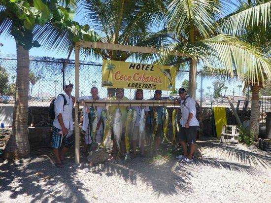 Coco Cabanas Loreto: Fish cleaning station