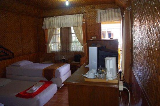 Danau Dariza Resort-Hotel: Room facing the lake