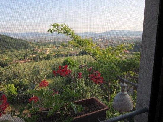 Farmhouse Villa Pacinotti : Niemals konnten wir von dieser Aussicht genug bekommen...
