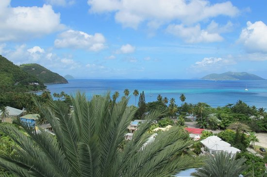 The View Of Cane Garden Bay From The Room Picture Of