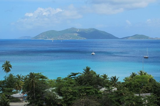 Agape Cottages : View of Jost Van Dyke from Unit P