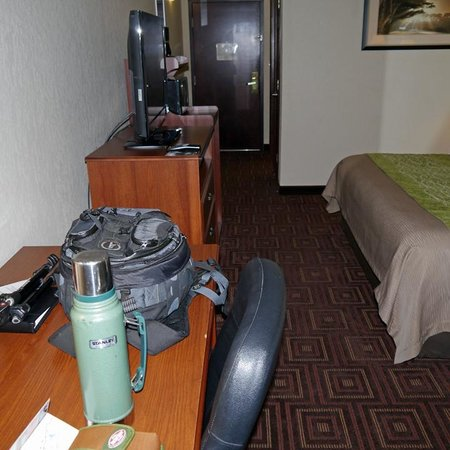 Comfort Inn Asheville Airport : room overview 1
