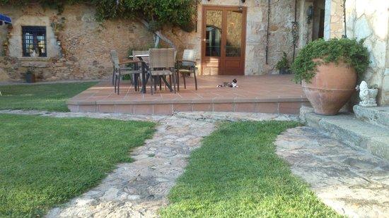 Hotel Sant Joan: Recepción